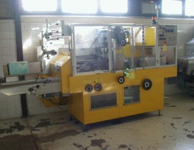 BFB 3786A - Cellophane bundling machine