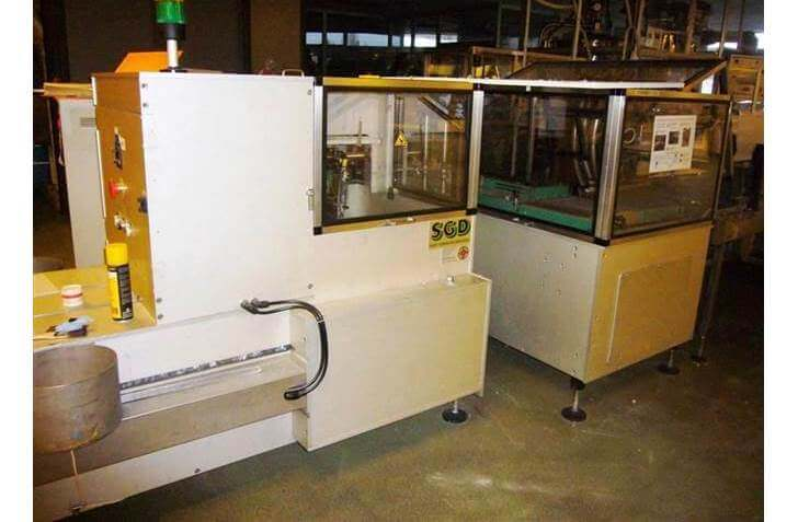 Saint Gobain Debalpack 820 - Unpacker + accumulation table