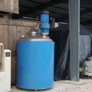 Cuve de mélange 1200L