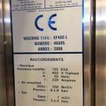 Erca formseal - Yogurt Cup Form Fill Sealing machine