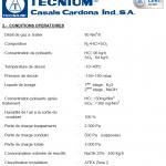 Tecnium – Absorbeur de gaz / colonne d'abattage