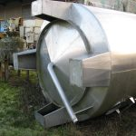 Stainless steel tank 10 000 litres