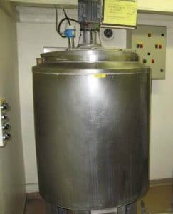 Rayneri - Electric melting tank 500 L