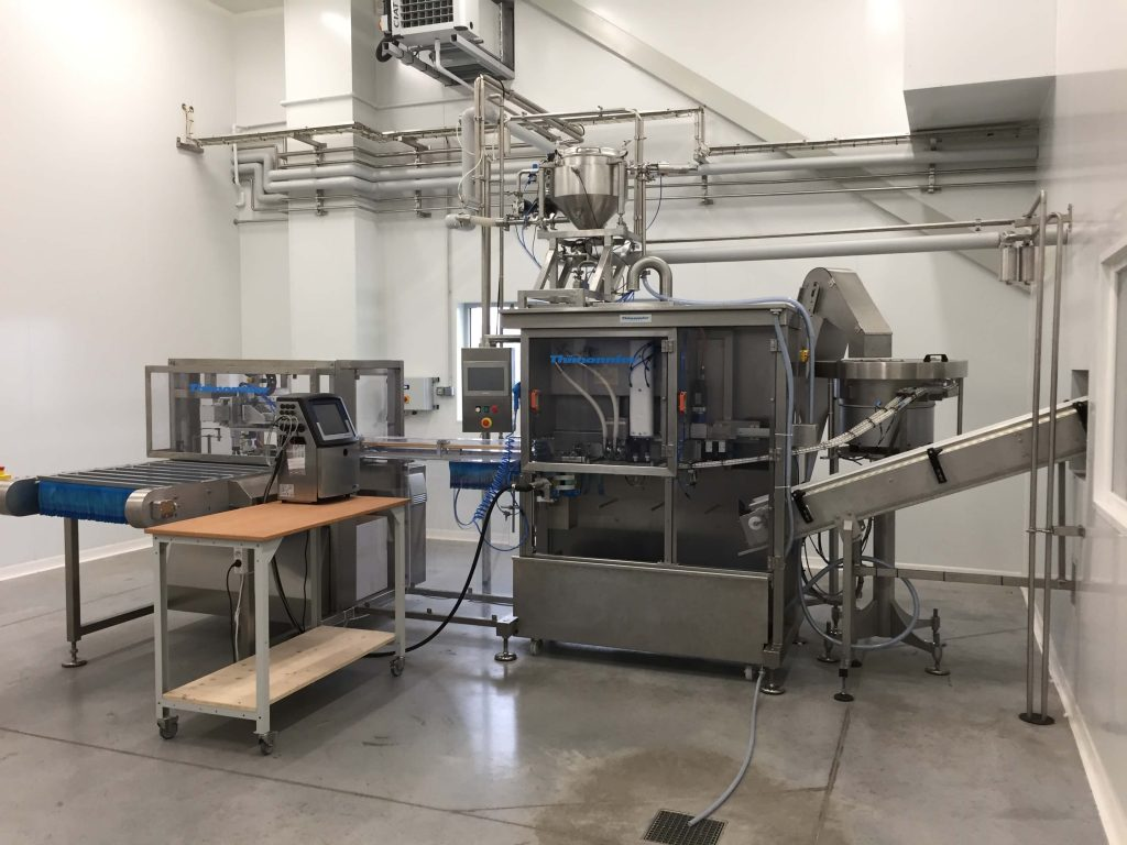 Thimonnier - Doypack filling and sealing machine SF 102