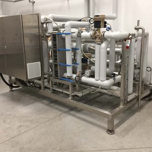 Vulcanic / Barriquand - Pasteurizer and Cooling Tunnel