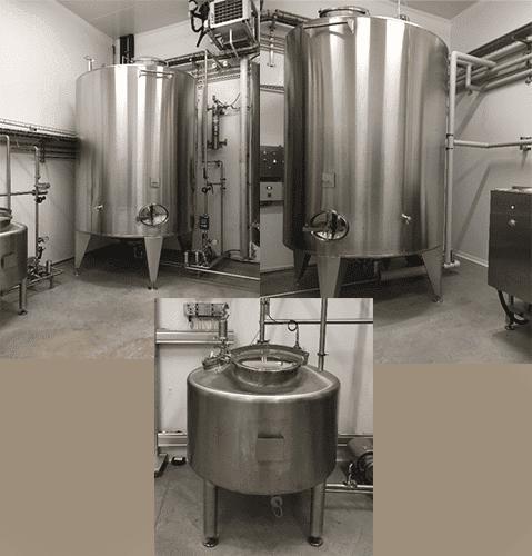 Tanks / syrup mixer set 10000L