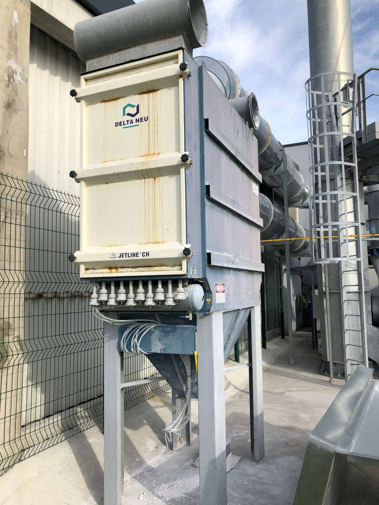 Delta neu - Dust collector jetlife JCH 45 EX (ATEX)