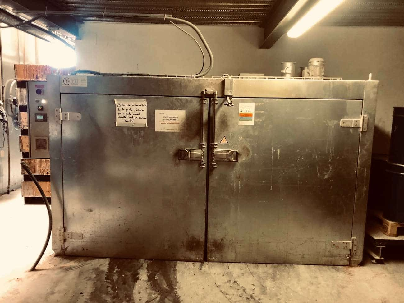 Thitec - Drying oven 2 pallets
