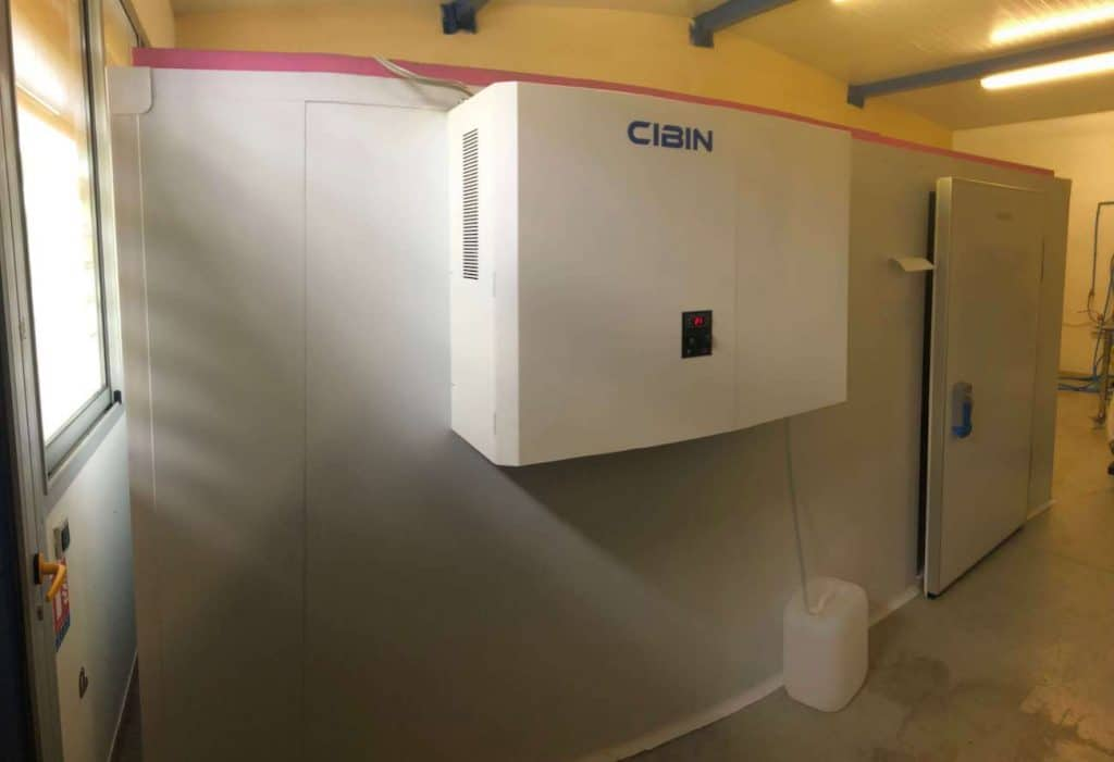 CIBIN - Refrigerating unit with LAIKA EL