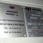 Rochman - Soudeuse en L et tunnel de rétraction