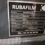Rubafilm - Rotary arm stretch wrapper