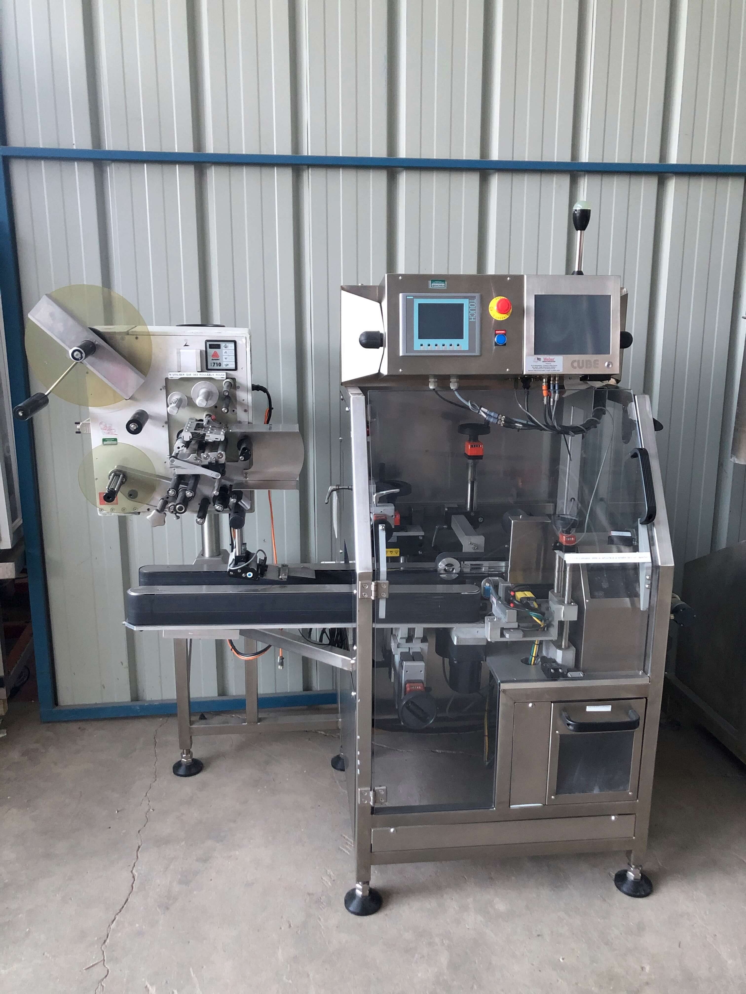 Transvis - Datamatrix printing and labelling unit