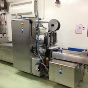Multivac R145 -Thermoforming packaging machine