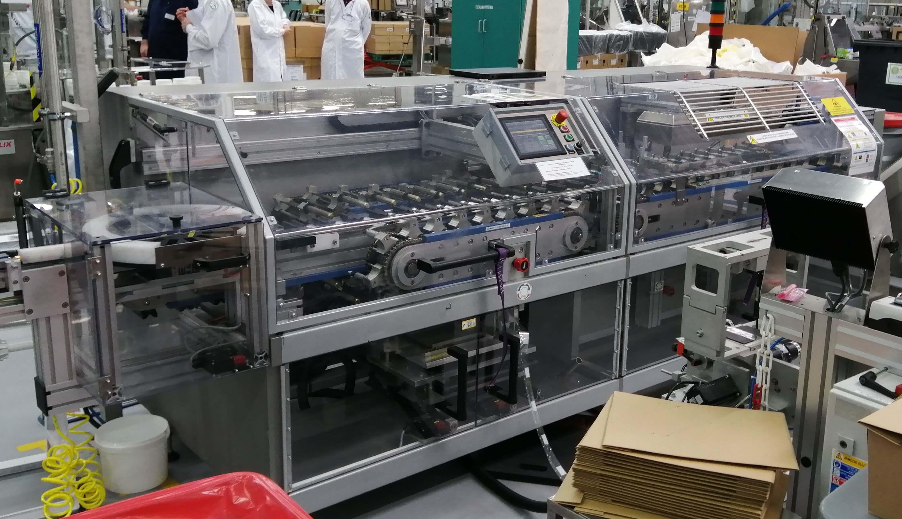 Sleevemaschine LPK 130 - Horizontal sleeve wrapping machine