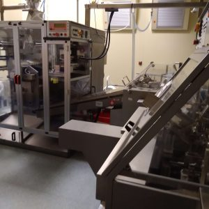 Marchesini MS235 / BA50 - Powder sachet filling and packaging line