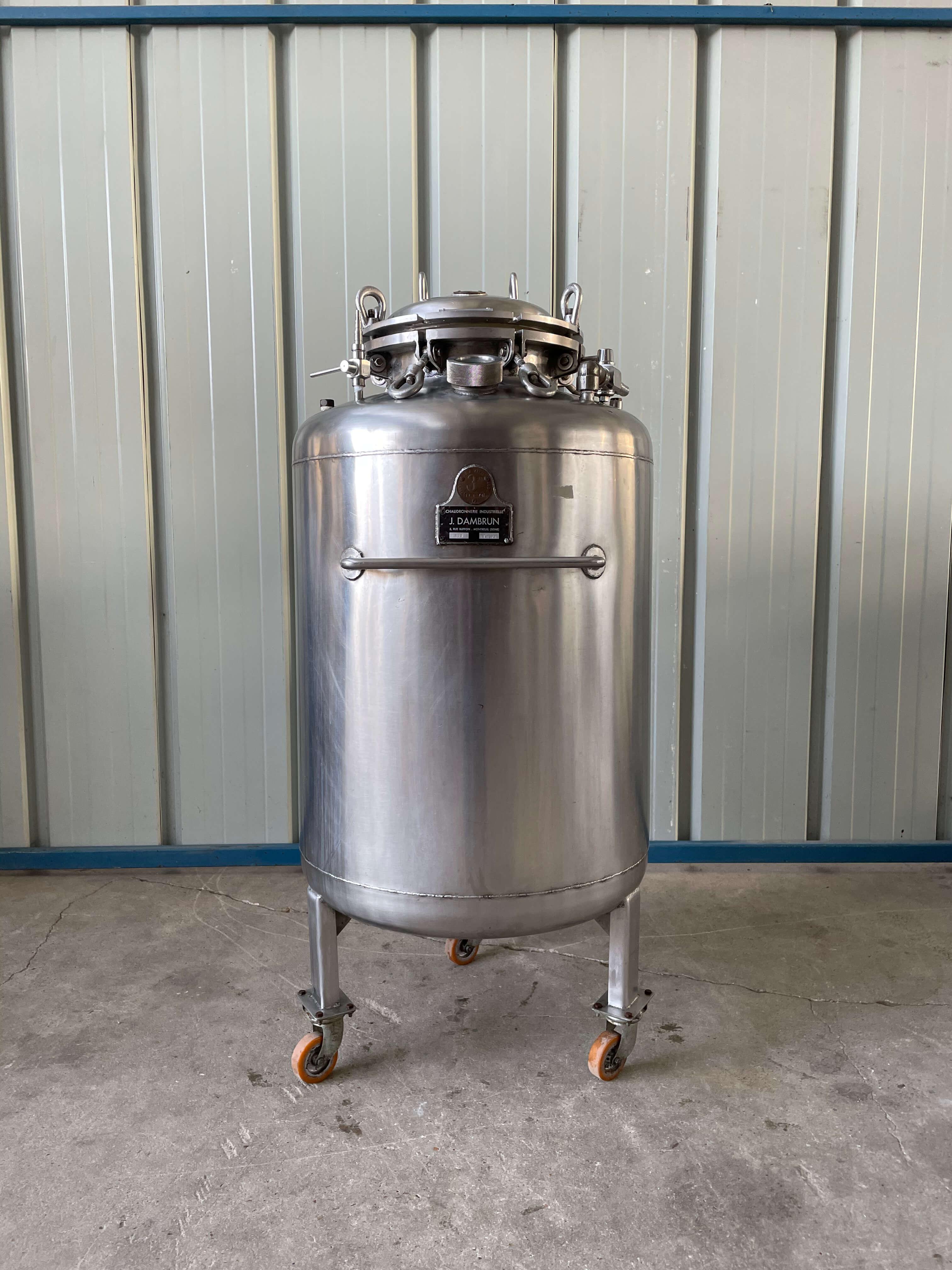 Dambron - Stainless steel tank 200L