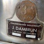Dambron - Cuve inox 200L