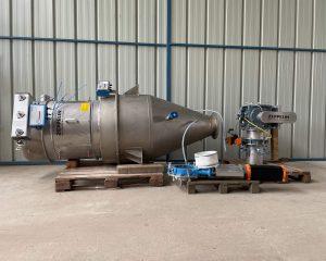Zeppelin - 400 L powder feed hopper