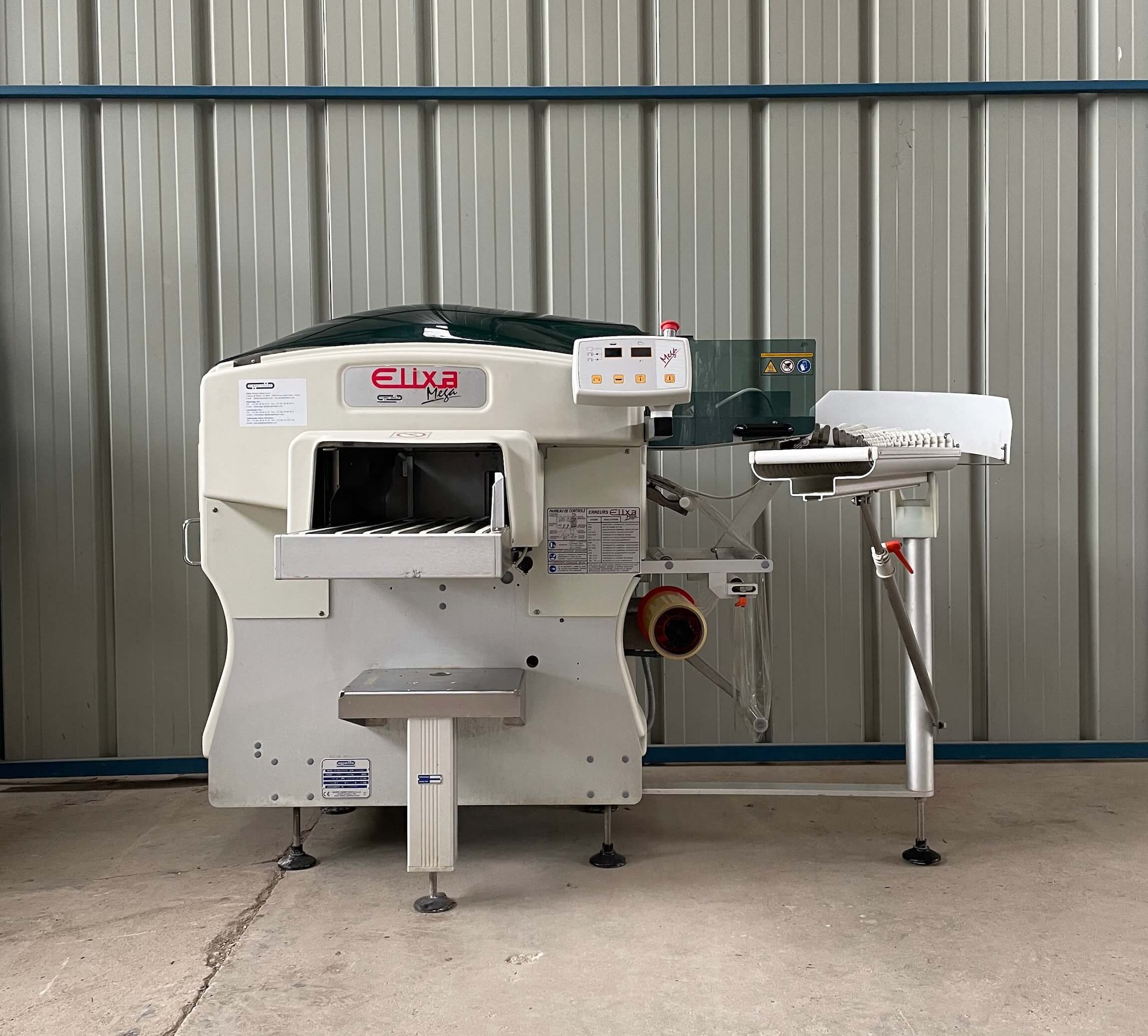 Fabbri Group: Elixa Mega - Automatic packaging machine