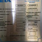 ETA - Cuve 3000 L agitée sur pesons