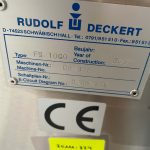 Système d'alimentation flaconsRudolfDeckert