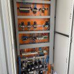 Armoire électrique et pneumatique